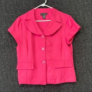 T.Milano Pink Size 14 2 Piece Skirt Suit